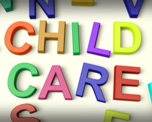 Child Care text image at a Preschool & Daycare Serving Greenville, AL