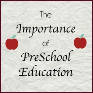 Importance of preschool education text at a Preschool & Daycare Serving Greenville, AL